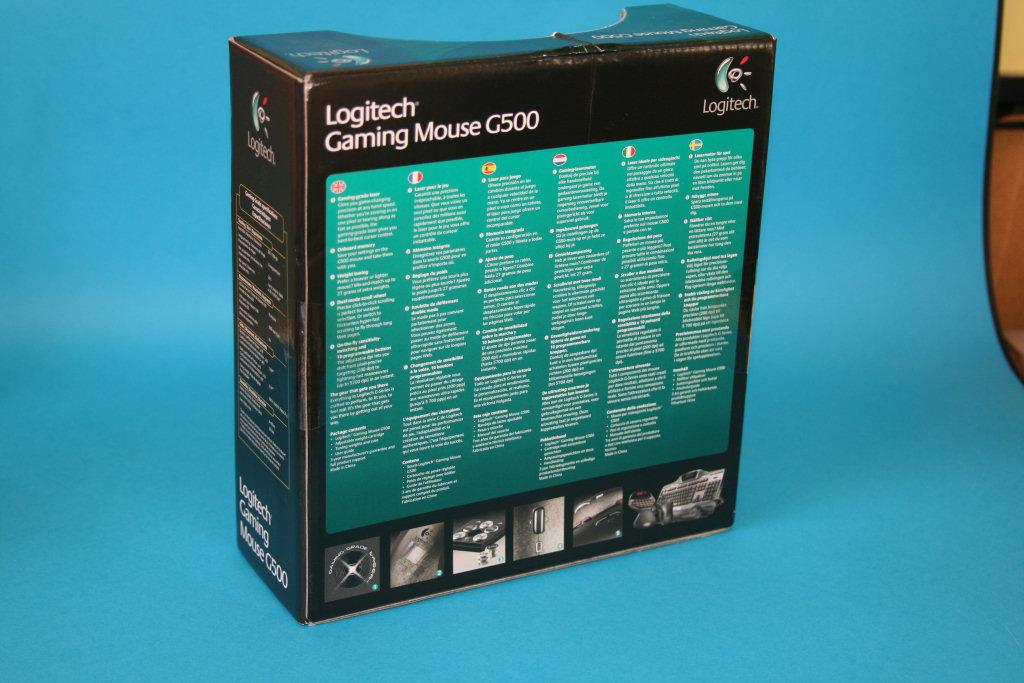 Logitech G500 Mouse Review