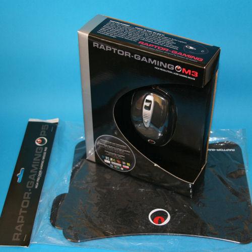 Raptor M3 Mouse & P5 Mousepad