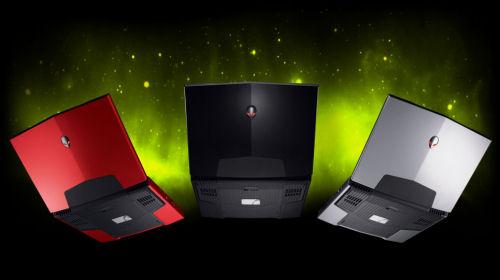 Alienware M15x Colours